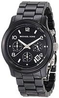Reloj Michael Kors MK5162 de cuarzo para mujer con correa de cerámica, color negro de Michael Kors