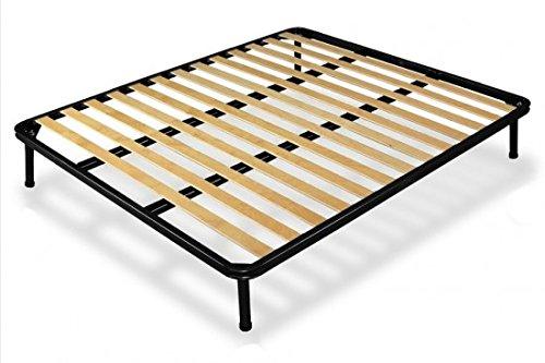 Bed Store RETE A DOGHE STRETTE MATRIMONIALE 160X190 ORTOPEDICA DOPPIO RINFORZO