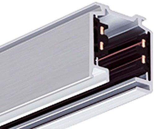 LTS Licht&Leuchten 3-Phasen-Aufbauschiene EU 20 sw-25-202 2000mm kürzbar Stromschiene 4043544027948 -