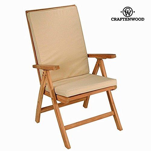 Foto de Sedia teak naturale reclinabile by Craften Wood (1000026171)