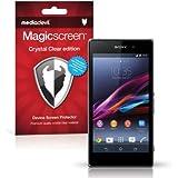 Sony Xperia Z1 Compact Screen Protector, MediaDevil Magicscreen Crystal Clear (Invisible) Edition - (2 x Protectors)
