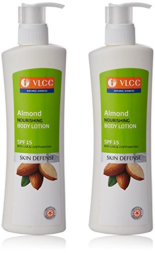 VLCC Almond Nourishing Body Lotion, 350ml (Buy 1 Get 1 Free)