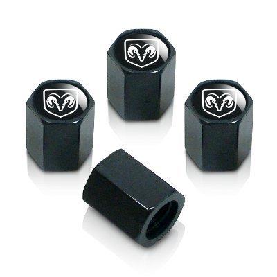 dodge-ram-silver-logo-black-tire-stem-valve-caps