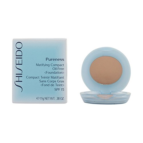 SHISEIDO - PURENESS matifying compact #30natural ivory 11 gr-mujer