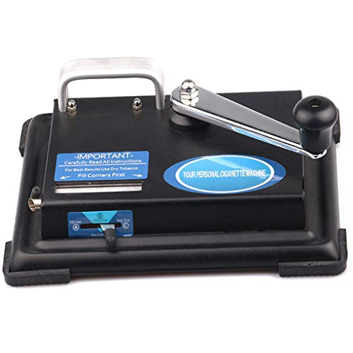 Dergtgh Mini portátil Mano Operado Cigarrillos máquina