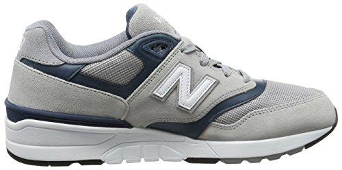 Nuovo Equilibrio Herren 597 Sneaker Mehrfarbig (grigio / Verde Acqua)