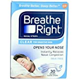 Breathe Right, Nasal Strips, Sm/Med, 30 Strips