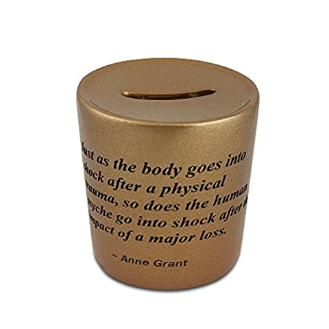 Just as the body goes into shock after a physical trauma, so does the human psyche go into shock after the impact of a major loss. golden money bank