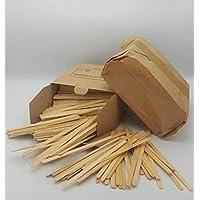 Palitos de madera para remover café, té, bebidas calientes y frías, para vasos