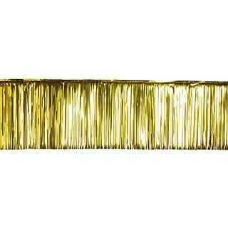 Abama Durchatmen–Vorhang Amtsheftung, Kunststoff, gold, one size