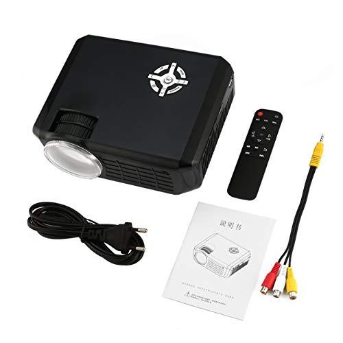 M28 tragbarer LED-Projektor 58W LCD Digital AV HD 1080P Projektor Multimedia Heimkino-Kino TV-Laptops Videoprojektor