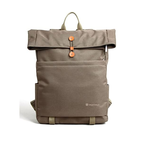 Apollo LARGE Backpack In Khaki Water And Tear Resistant For Laptops, Macbooks, Netbooks, Ultrabooks, Chromebooks, Surface Up To 16 Inch From tagsbags 41YXsk0msHL