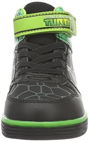 Turtles Boys Kids Skate/Street High Sneakers, Baskets Basses Garçon Vert - Grün (Blk/Blk/Grn 004)
