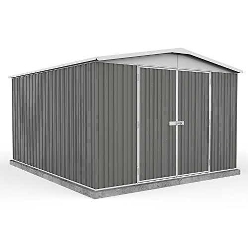 10-x-12-grey-apex-roof-metal-garden-shed-easy-build-grey-by-waltons