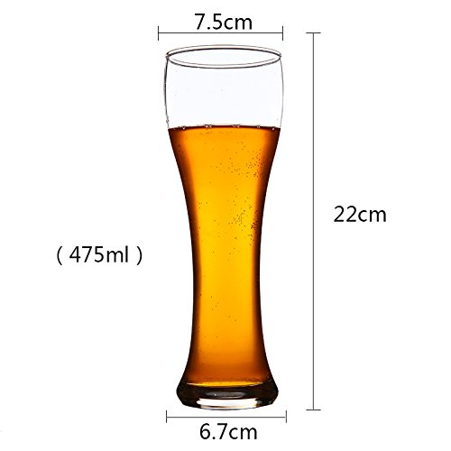 upper-beer-2-pack-of-beer-glass-juice-import-lead-free-thick-cup-super-cup-beer-drink-cup475-ml-2