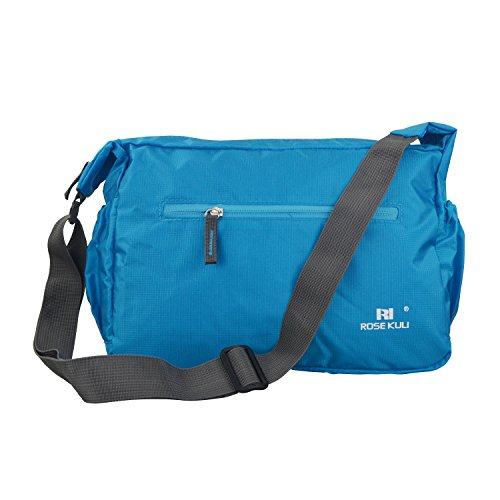 whx-folded-multifunctional-mummy-shoulder-bag-baby-waterproof-zipper-diaper-bag-blue