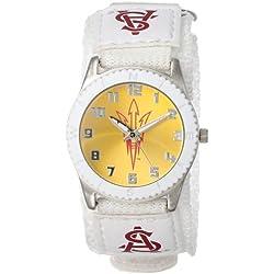 "Game Time Unisex COL-ROW-ASU ""Rookie White"" Watch - Arizona State"