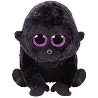 TY 37144 - George - Gorilla Pluschtier mit Glitzeraugen  Glubschi's  Beanie Boo's, 24 cm