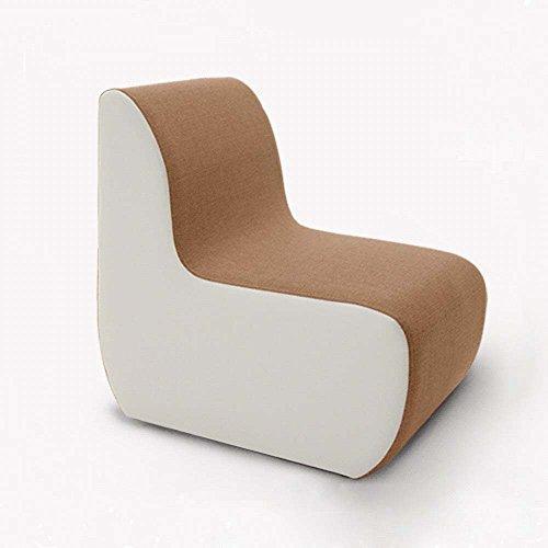 Duo  Computer Tisch Moderner einfacher einfacher Sofashocker Lazy Einzel-Sofa Stuhl Schlafzimmer Zimmer Schönheitssalon kreativ Sofa Hocker (Farbe optional) dauerhaft (Farbe : 5)