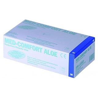 Handschuhe Med Comfort Aloe Vera Latex, Größe S