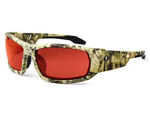 Ergodyne Skullerz Odin Polarized Safety Sunglasses - Kryptek Highlander Frame, Copper Lens