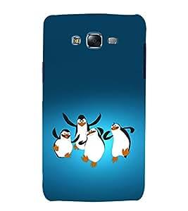printtech Madagascar Penguins Back Case Cover for Samsung Galaxy J2 / Samsung Galaxy J2 J200F