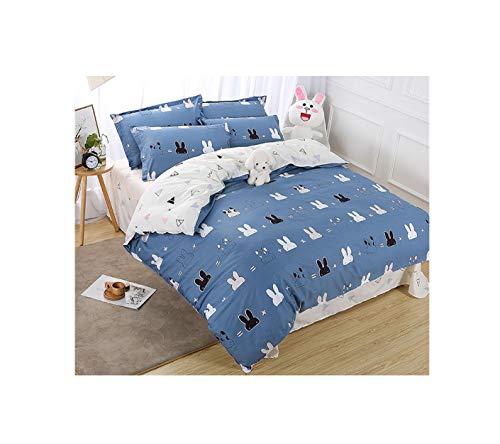 The Unbelievable Dream Bettbezug doppelseitige bettwäsche Set Baumwolle waschbar einfache niedliche Kinder Kinder Erwachsene Traum dumme Haustiere, 5