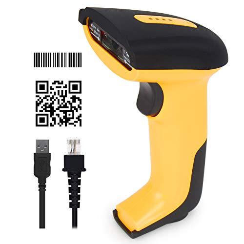 Escáner de código de barras 2D CHITENG Lector de escáner de código QR USB Lector de código de barras...