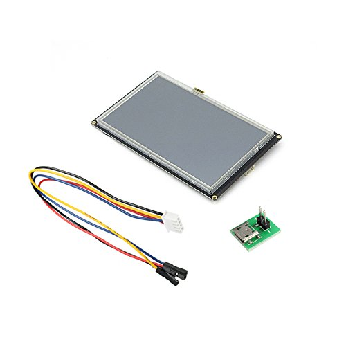 RoXane Nextion Verbesserte Nx8048K070 7,0 Zoll Hmi Intelligente Smart Usart Uart Serielle Touch Tft Lcd Modul Anzeigetafel Für Raspberry Pi Arduino Kits - E60 Lcd