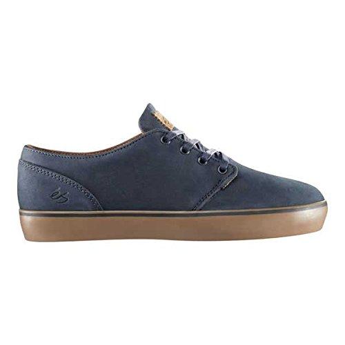 éS  EDWARD MACHO TAILDROP, Chaussures de skateboard pour homme Bleu - Dark Navy