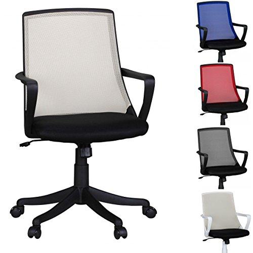 finebuy b rostuhl ivan wei schreibtischstuhl stoff drehstuhl mit armlehne jugend stuhl b ro. Black Bedroom Furniture Sets. Home Design Ideas