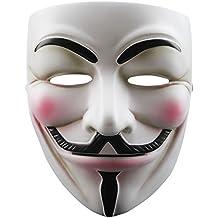 SODIAL(R) Mascara de cosplay de resina V para Vendetta Anonymous Guy Fawkes Juguetes