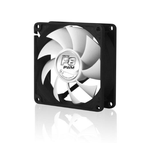 Arctic Cooling F8 PWM - Ventilador para caja de ordenador (700 rpm),...