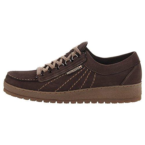 Mephisto Rainbow Dark Brown Mens Shoes Dark Brown