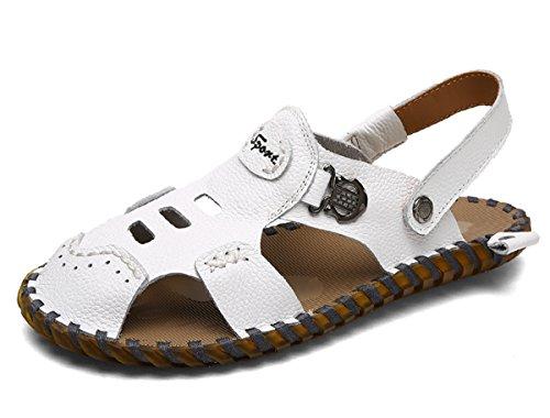Miyoopark , Sandales pour homme Blanc