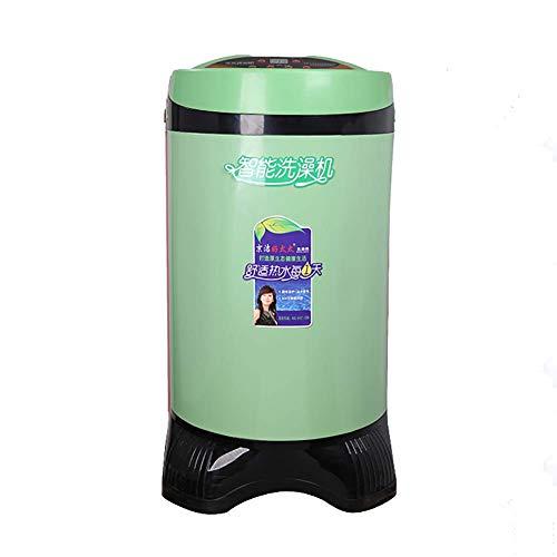 ZNDDB Tragbare Dusche - Warmwasserspeicher Typ Warmwasserdusche, 80L Kapazität, 220V / 2000W, Konstante Temperatur 0-55 °, Intelligentes Ausschalten,Green