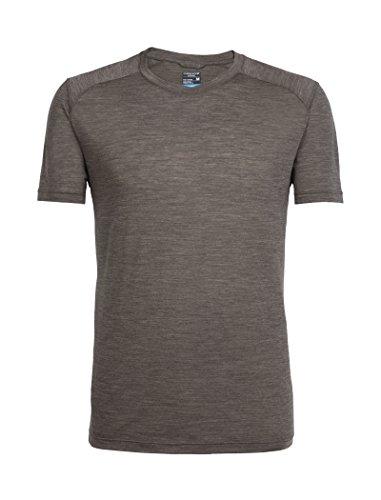 Icebreaker Herren Sphere SS Crewe T-Shirt, Trail Hthr, XL