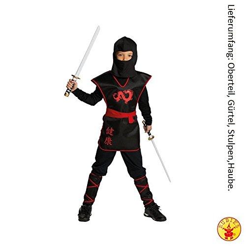 Rubies Ninja Krieger Jungen Kinder Kostüm Fasching Karneval Verkleiden: Größe: 164 (Krieger Ninja Kostüme)