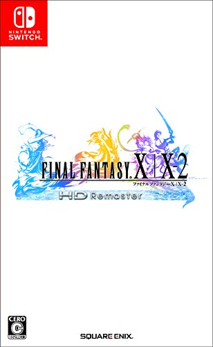 Square Enix Final Fantasy X / X-2 HD Remaster NINTENDO SWITCH REGION FREE JAPANESE VERSION