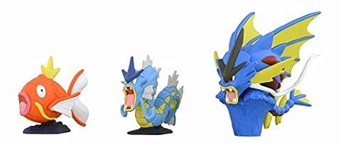 Takaratomy Pokemon XY Monster Collection Mega Evolution 5,1cm Mega Léviator Action Figure (3Pièces)