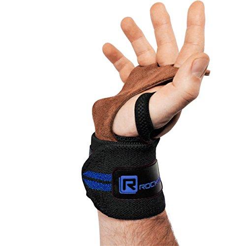 Original Rockitz CrossGripz - Pull Up Grips, Hand Grips, Wodies für Calisthenics, Crossfit,...