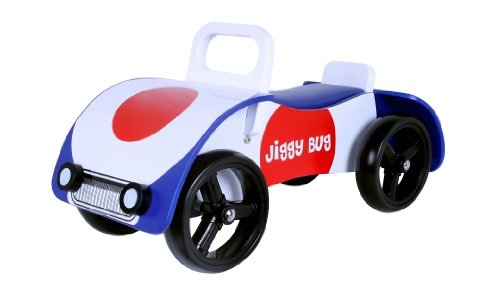'Jiggy Bug' Wooden sit on / ride on car