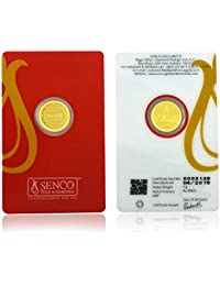 Senco Gold 24k (999.9) Yellow Gold Coin