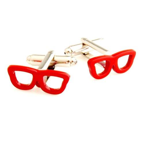 Procuffs Manschettenknöpfe Sonnenbrille Wayfarers Retro-Brille Hipster + Box & Reiniger