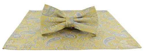 Michelsons of London Herren Set Einheitsgröße Gr. Einheitsgröße, gelb (Tie Pocket Hankie-set)