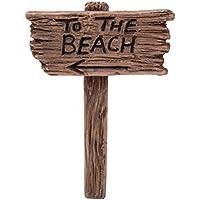 Miniature mondo–La spiaggia Sign (mw08–018)