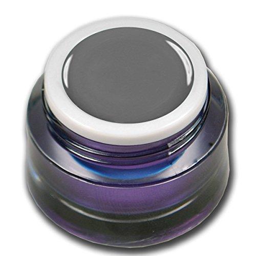 RM Beautynails Premium Gel UV coloré pour les ongles Gris foncé 5 ml