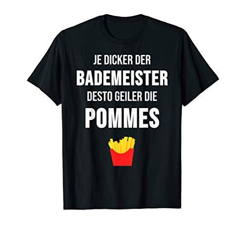 Bademeister T-Shirt Schwimmbad Schwimmen Geschenk - Schwimmen T-shirt Sprüche