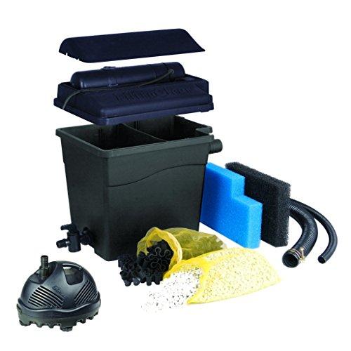 Ubbink Einfache Reinigung durch Schmutzablasshahn