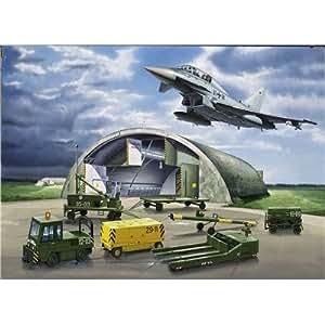 Revell 04376 - Eurofighter, Shelter & Equipment - Maßstab 1:72